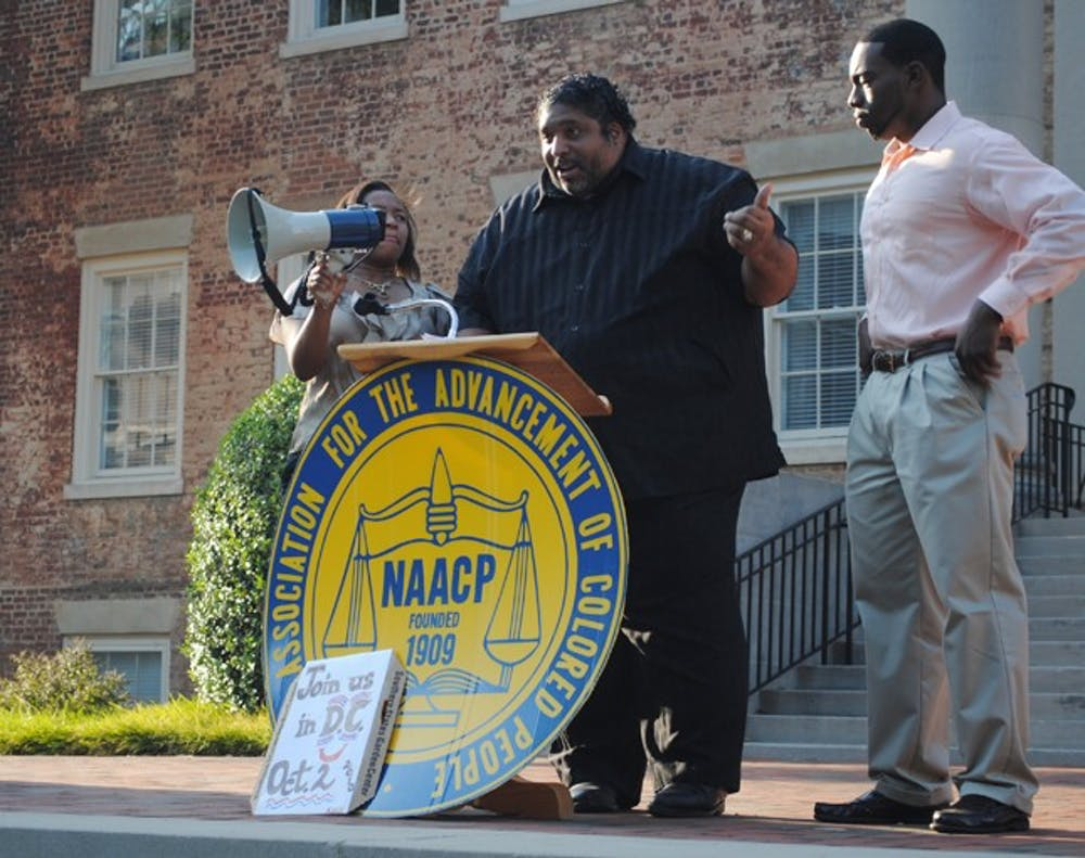 NAACP speakers emphasize community and service to students