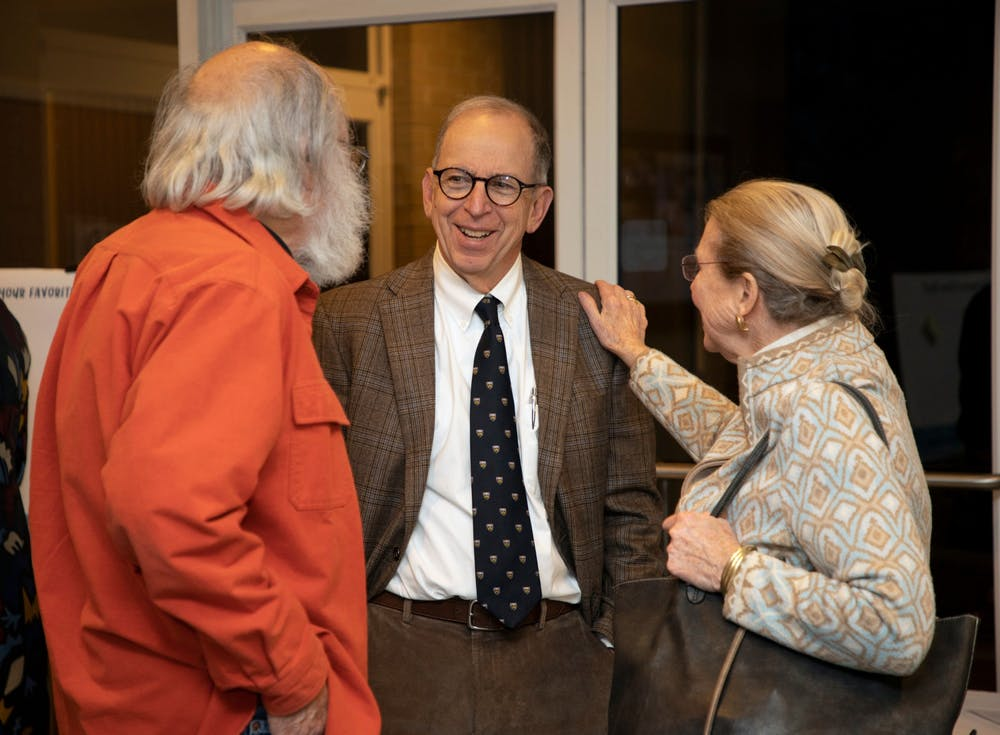 Ralph Karpinos, NC's longest-serving attorney, at the Chapel Hill 200th Birthday Celebration on Friday, Nov. 20, 2019. Photo courtesy of Town of Chapel Hill