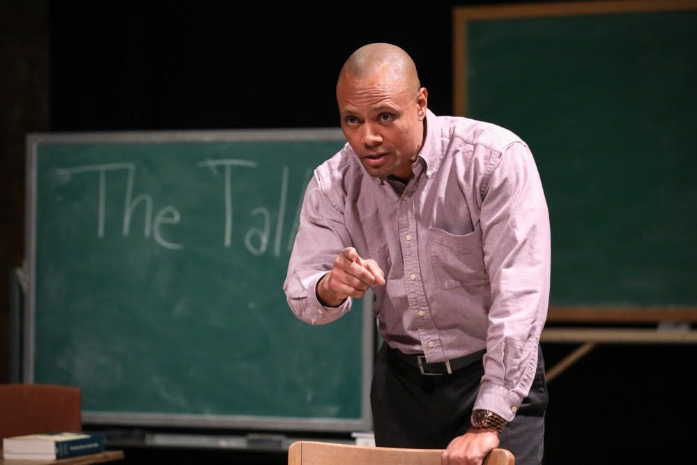 """Sonny Kelly, a UNC doctoral candidate, is the writer and star of """"The Talk,"""" which will run 16 times from Jan. 24 through Feb. 17."""