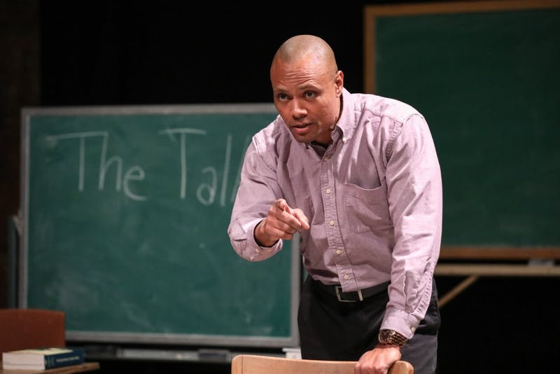 "Sonny Kelly, a UNC doctoral candidate, is the writer and star of ""The Talk,"" which will run 16 times from Jan. 24 through Feb. 17."