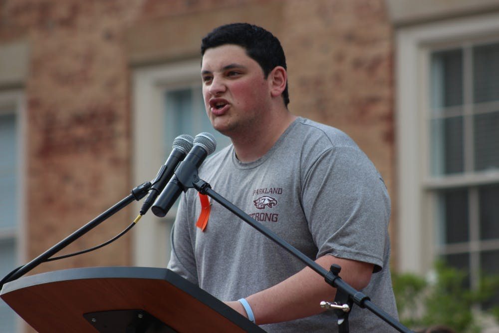 Students call for 'common sense' gun legislation in UNC's Rally for Our Lives