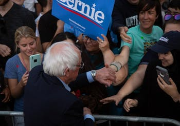 Bernie Sanders comes to Chapel Hill
