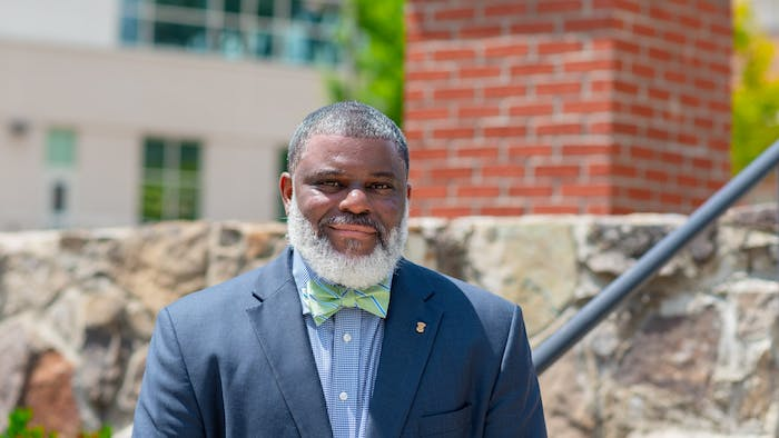 Deon Temne was elected to the Chapel Hill-Carrboro City Schools Board of Education in November. Photo courtesy of Deon Temne.