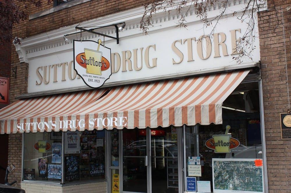 <p><em>Courtesy of Sutton's Drug Store</em></p>