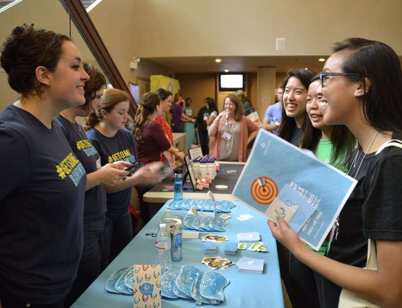 All-female hackathon aim towards creating an encouraging environment for women of all skill levels to pursue their interests in technology. Pearl Hacks holds a Sponsor Fair from 11AM to 1PM at the lower lobby in Sitterson Hall on Apr.2.