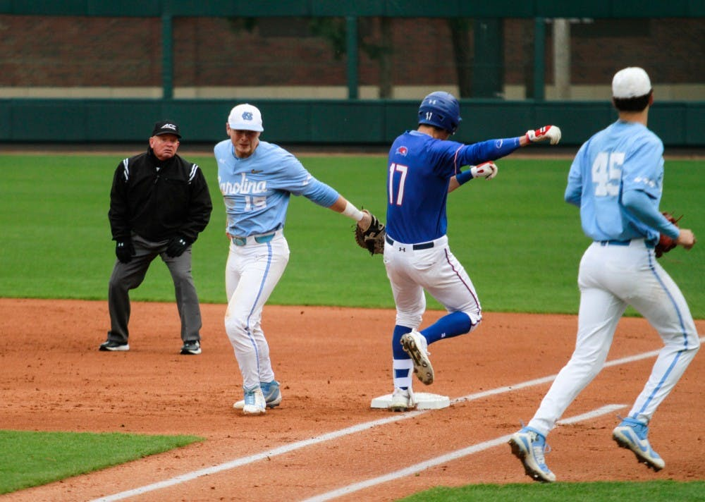 UNC baseball completes sweep of Duke with 16-6 win