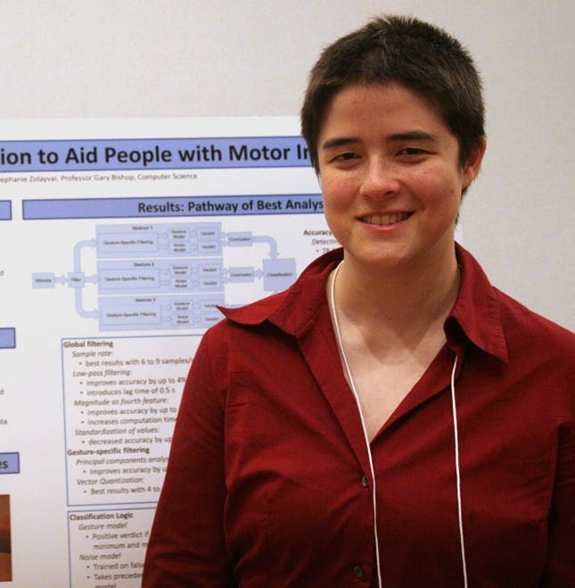 UNC student channels power of Wii for physical therapy
