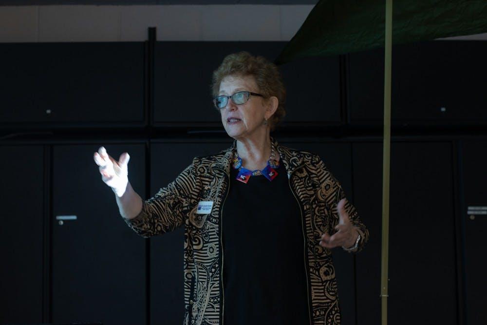 League of Women Voters hosts family-friendly gerrymandering bash
