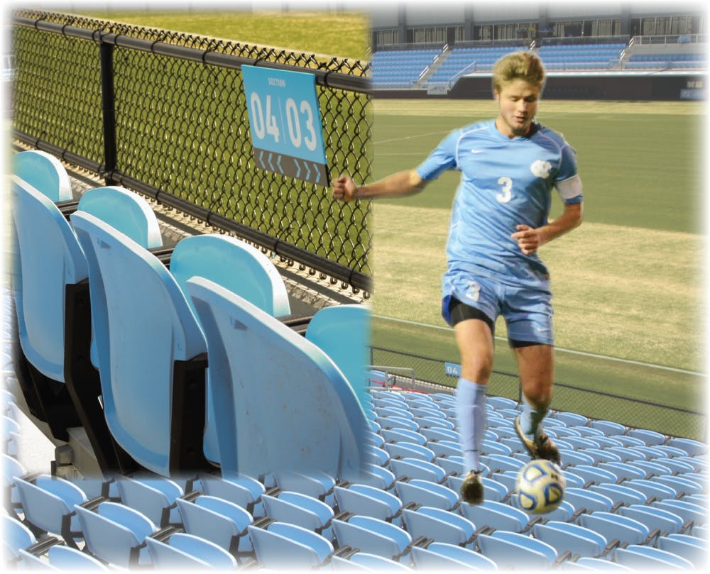 With the Kirk Urso Student Section, UNC men's soccer will again honor one of its own
