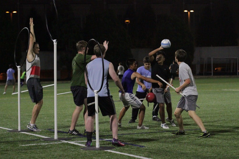 Quidditch team seeks recognition