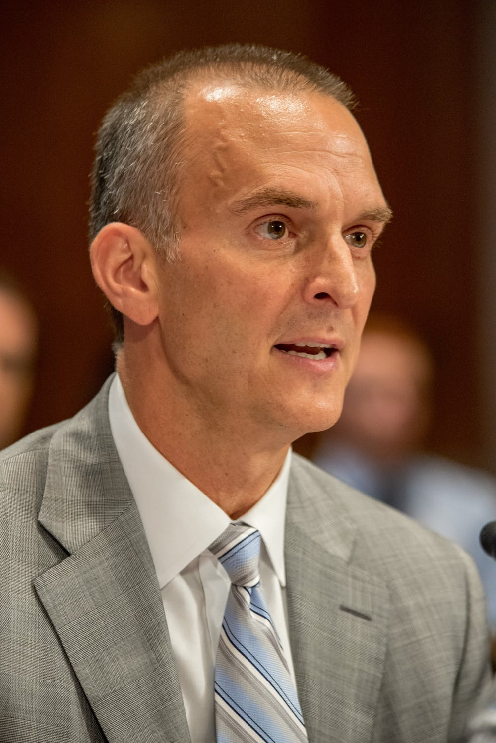 <p>Travis T. Tygart at the Helsinki Commission Hearing in Washington D.C. on Friday, July 27, 2018. Photo courtesy of Adam Woullard.</p>