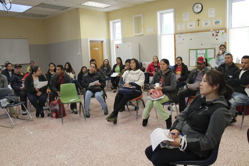The Chapel Hill nonprofit Immersion for Spanish Language Acquisition gathered to discuss immigration policies on Saturday.