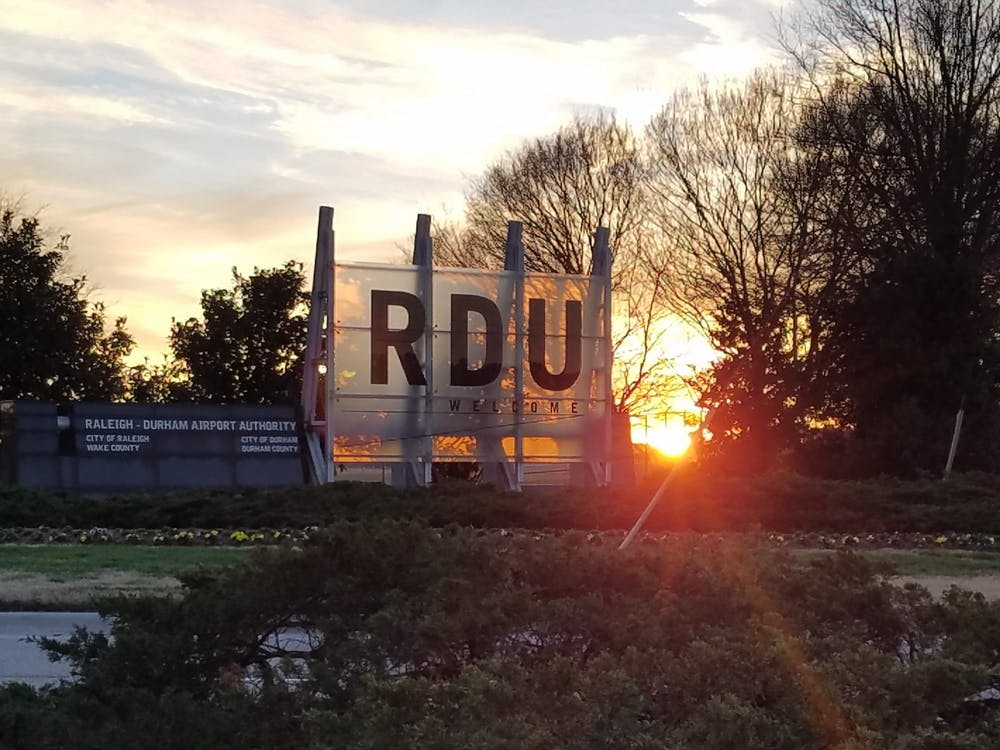 <p>Raleigh-Durham International Airport serves the Triangle area and the greater North Carolina community. Photo courtesy of RDU Airport Authority.</p>