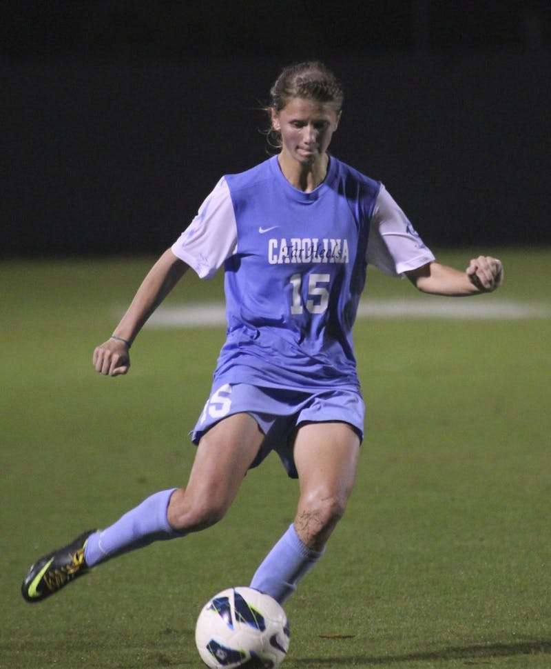 UNC women's soccer beat Duke 2-0 at Koskinen Stadium in Durham on Thursday evening.