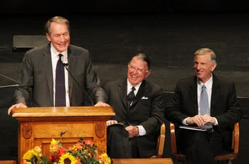 Charlie Rose, anchor on CBS This Morning, speaks at Bill Friday's memorial service on Wednesday morning.
