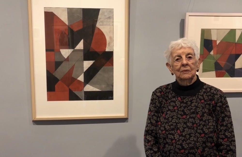 New exhibit at Horace Williams House features 91-year-old artist