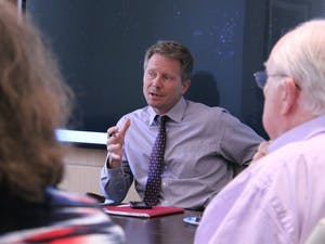 Dean of the College of Arts and Sciences Kevin Guskiewicz and the Faculty Executive Committee discussed increasinginterdisciplinarityin a June 2016 meeting.
