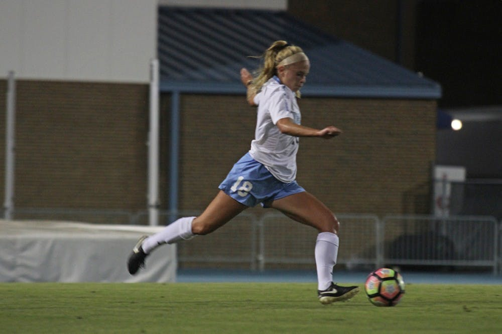 UNC women's soccer plays as one in 3-1 win over Miami