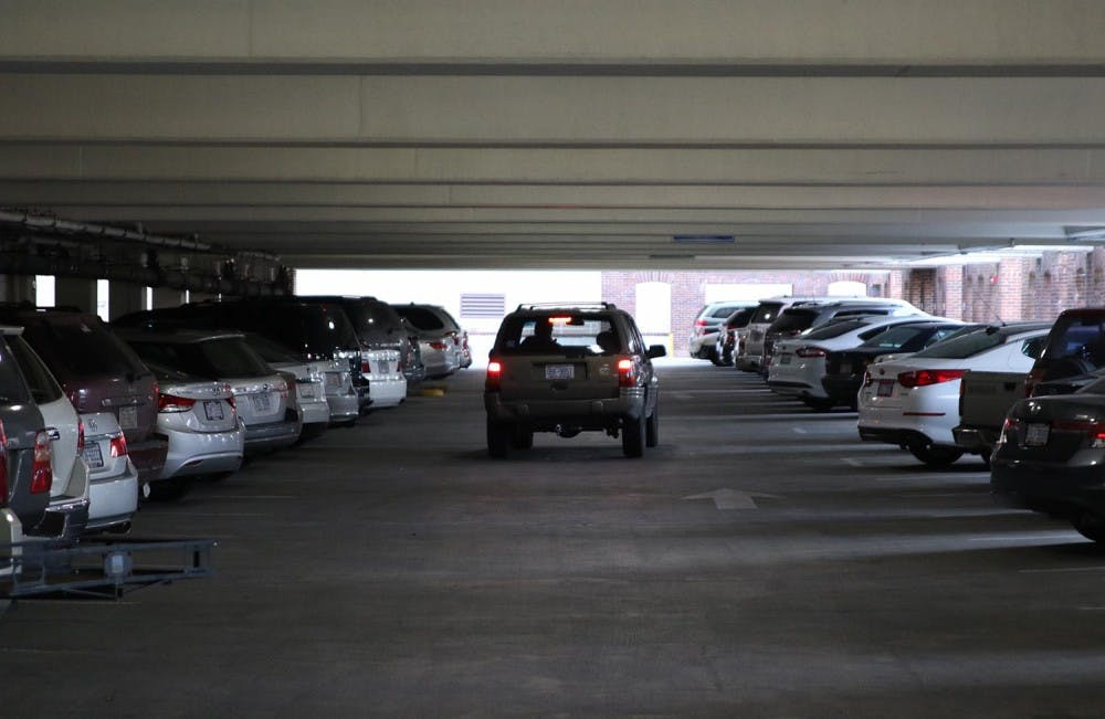 <p>There are differing opinions as to whether or not the town of Carrboro has sufficient parking.&nbsp;</p>