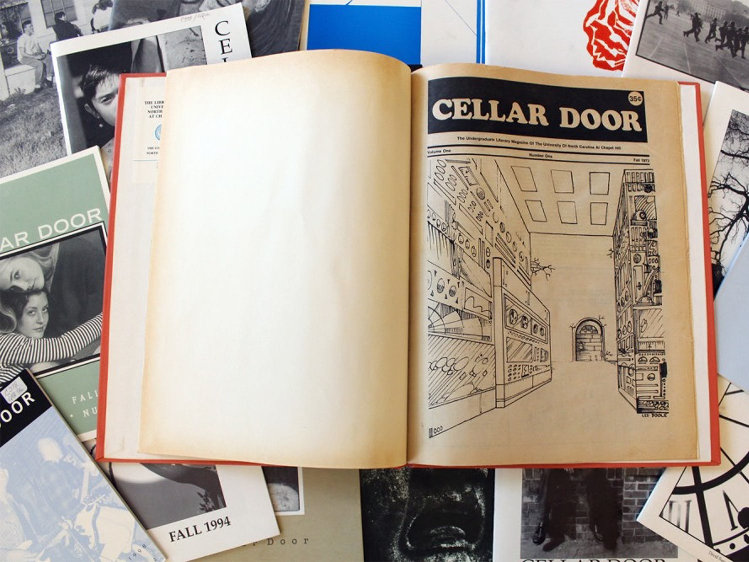 Cellar Door has been publishing since the mid 1970s.  Feb. 9 marked the final submissions for the literary and art magazine.