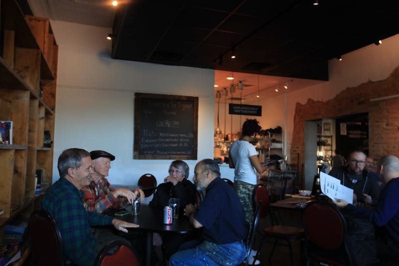 Mystery Brewing Company is closing it's doors today. Customers congregate in the local favorite in Hillsborough Tuesday, Oct. 30, 2018.
