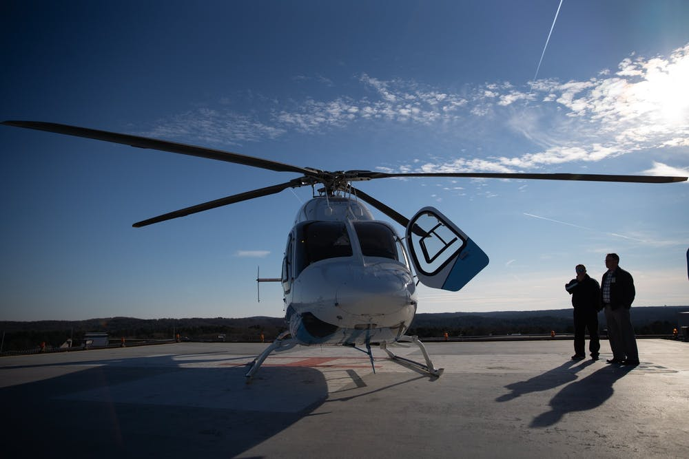The medics of the sky: how Carolina Air Care transports critical patients