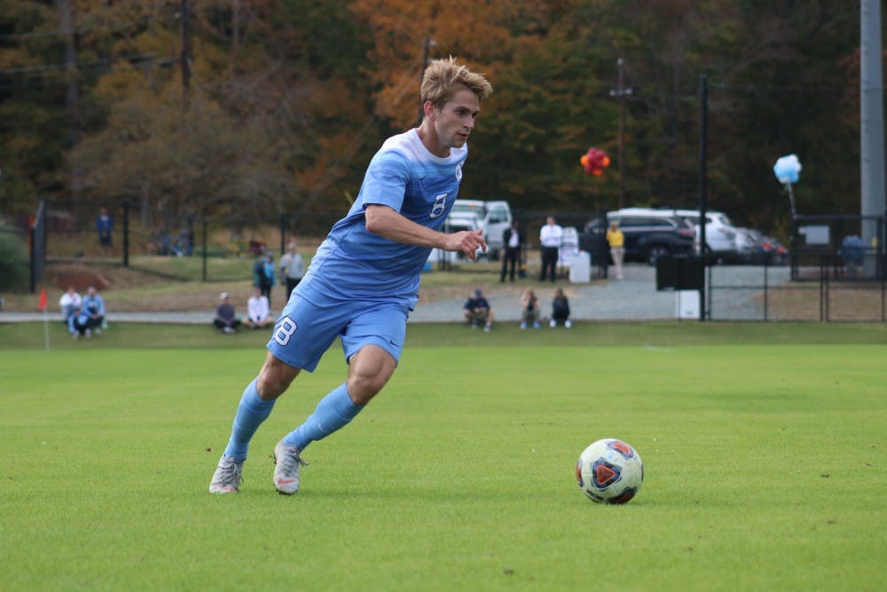 UNC men's soccer wins second straight U.S. Soccer Spring title with undefeated record