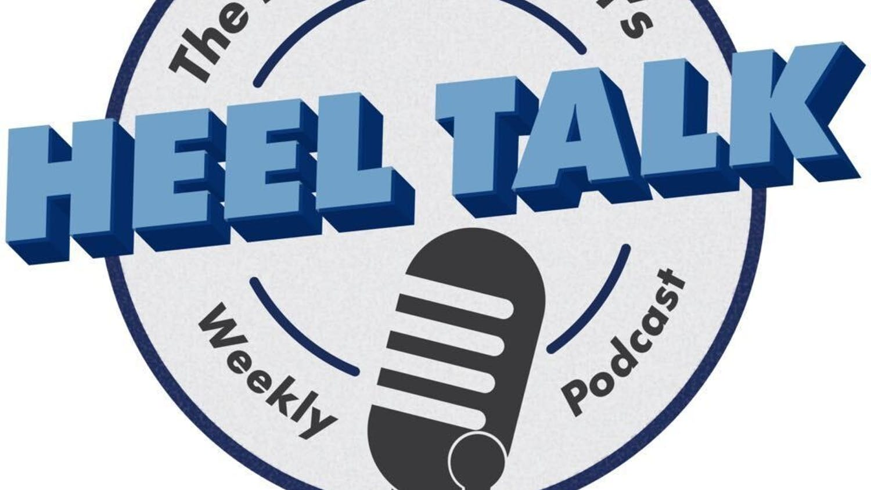 Graphic of Heel Talk podcast
