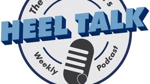 Graphic of Heel Talk podcast