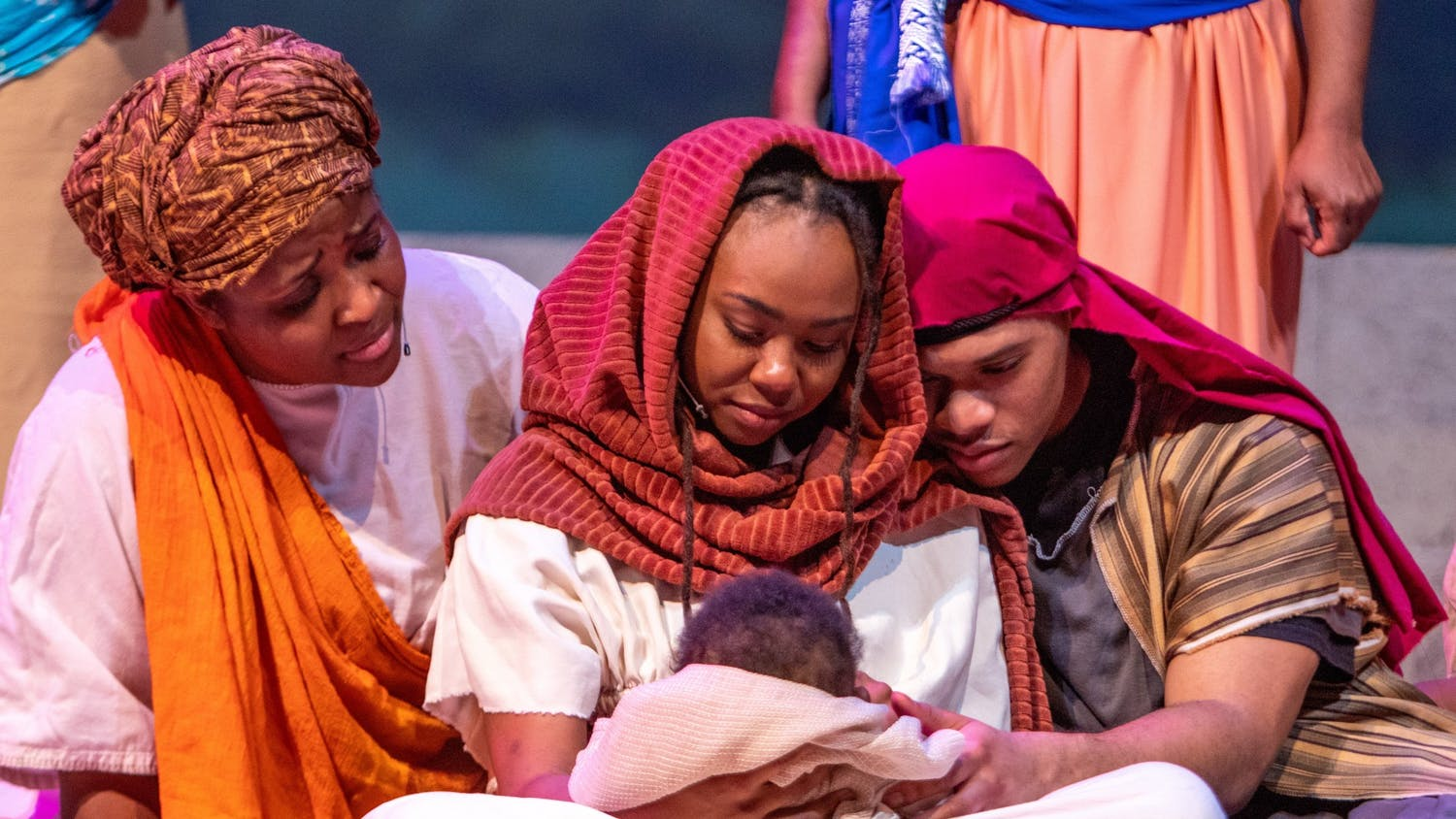 """Triangle Performance Ensemble's annual production of """"Black Nativity Durham"""" will be presented virtually beginning Friday, December 18 until December 31. Photo courtesy of Emmanuel Tabb."""
