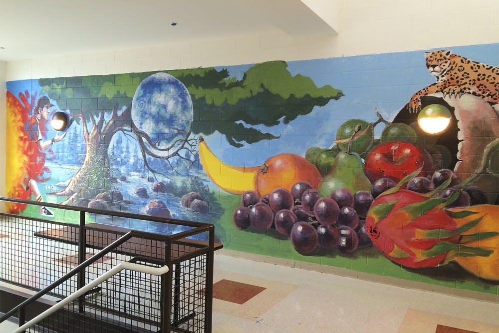 Muralists, students create art in Carrboro