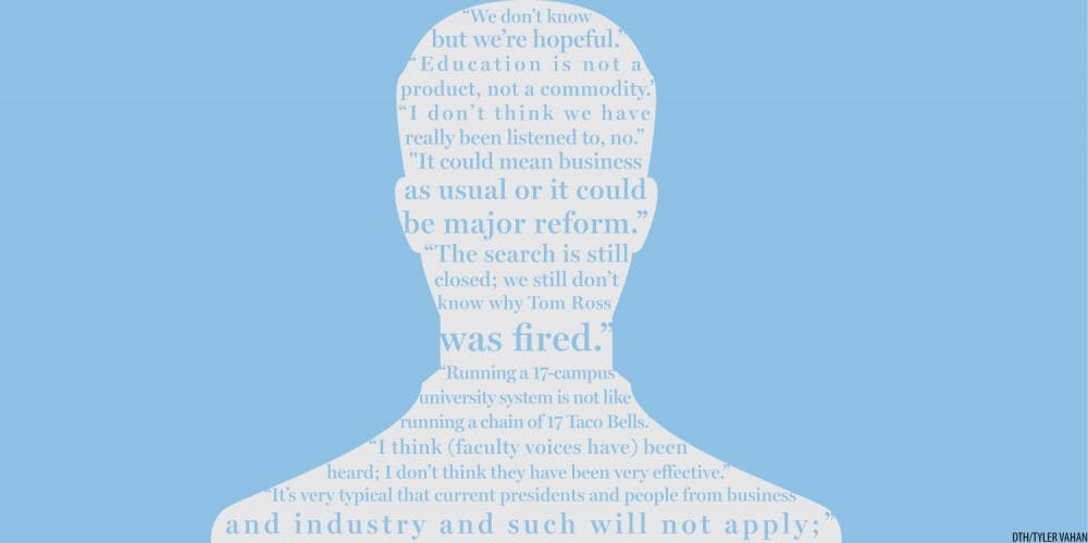 UNC-system president search leaves public in the dark