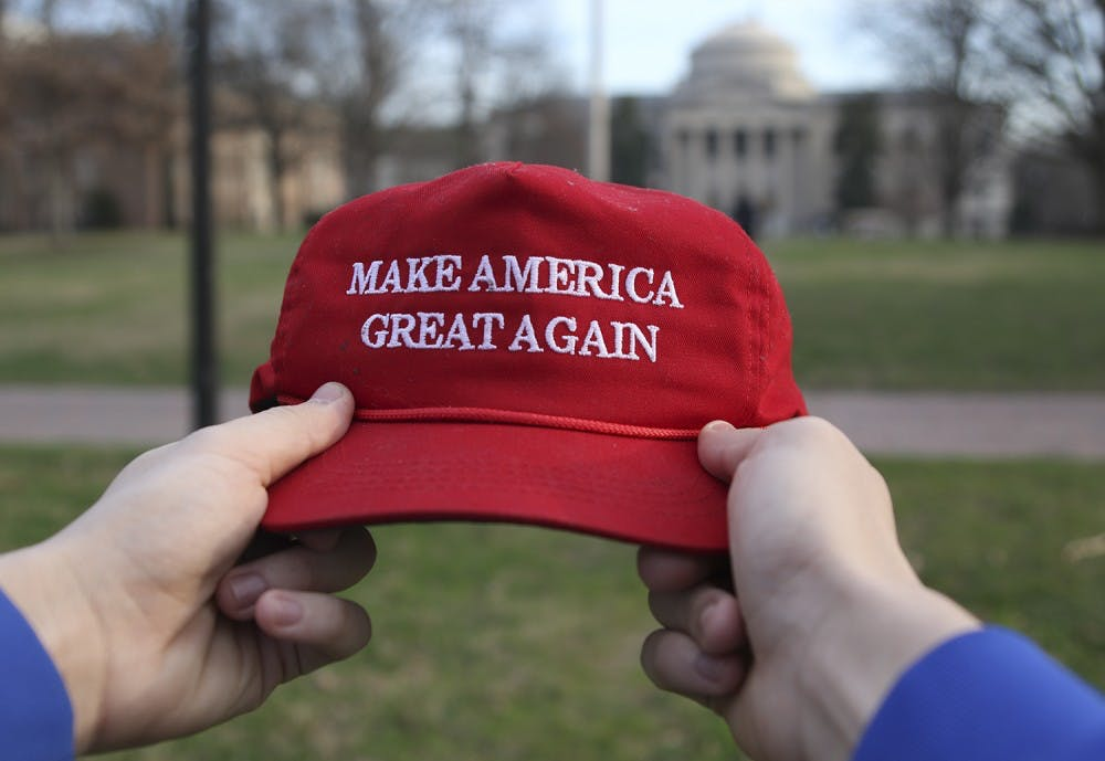<p>Tristan Clapham, a UNC first-year, is a Trump supporter who was in attendance at the inaugural events. He spoke about his experience as a conservative in the more liberal town and campus of Chapel Hill.</p>
