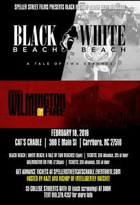 """Wilmington on Fire"" will be shown with ""Black Beach / White Beach"" at Cat's Cradle on Feb. 18. Courtesy of Speller Street Films."