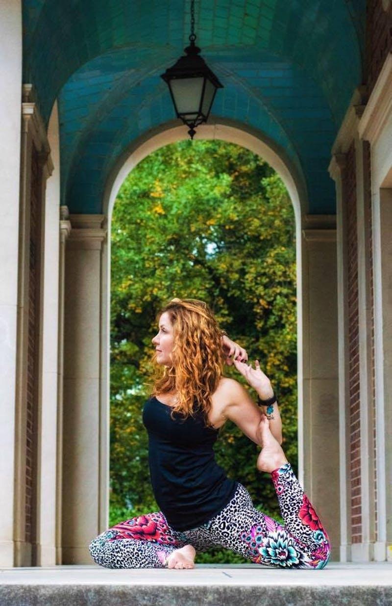 Lori Burgwyn Hernandez will teach a meditation class at the Ackland Art Museum in celebration of Bodhi Day. Photo courtesy of Lori Burgwyn Hernandez.