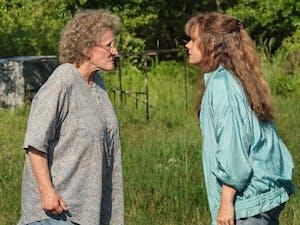 "Glenn Close, left, and Amy Adams in Netflix's ""Hillbilly Elegy."" Photo courtesy of Lacey Terrell/Netflix/TNS"