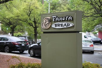 The Food Recovery Network at UNC-Chapel Hill partners with Panera Bread as a recovery location to collect surplus food for partner agencies that work to fight food insecurity.