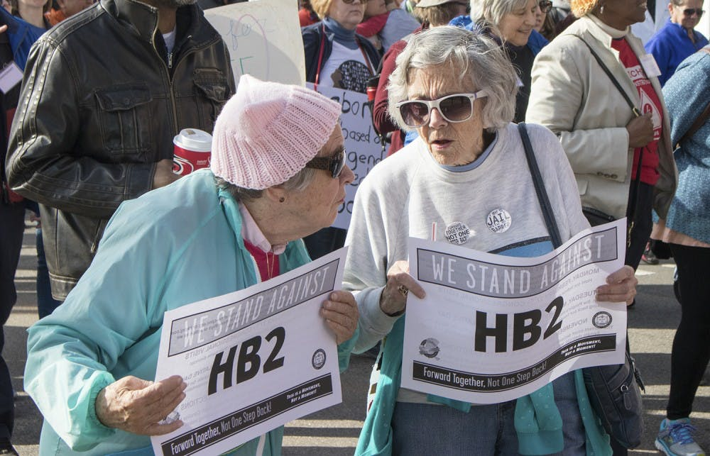 HB2 raises concerns at Raleigh's Moral March