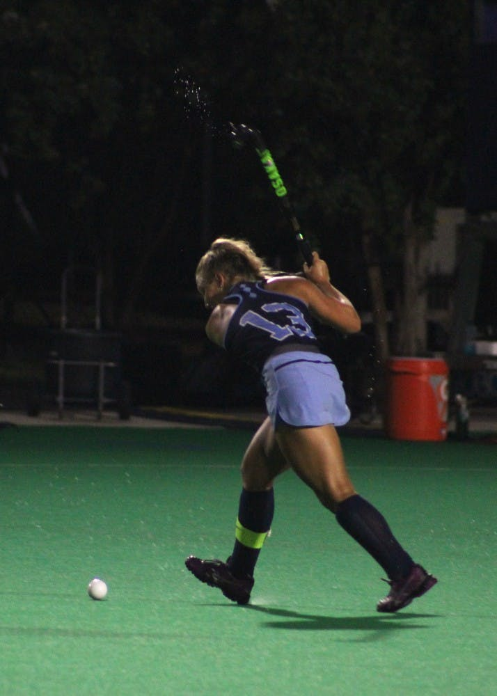 Field Hockey opens regular season with 5-1 drubbing of No. 5 Michigan