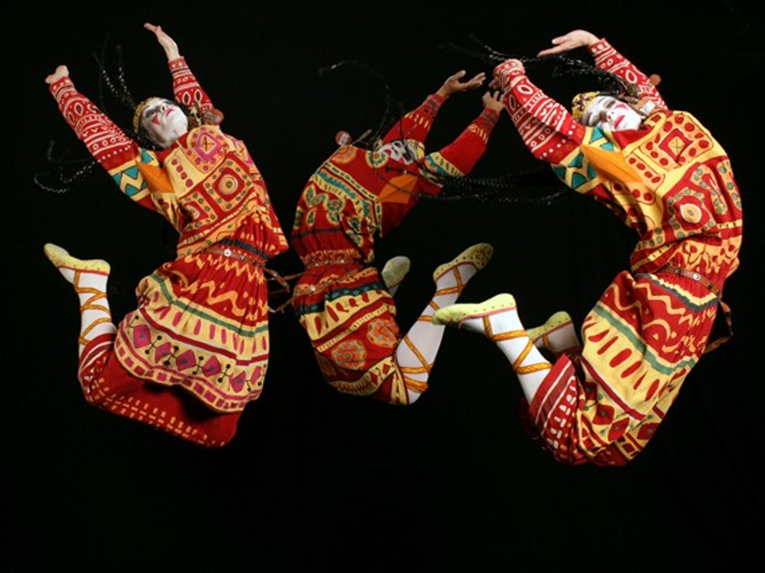 """""""The Rite of Spring"""" is the theme for Carolina Performing Arts' 2012-13 season. The Joffrey Ballet, above, reconstructed the original in 1987.  Courtesy of Carolina Performing Arts"""