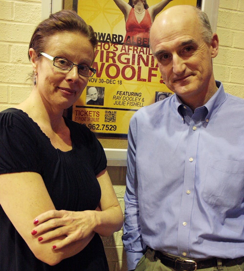 Veteran professors play dueling spouses in 'Who's Afraid of Virginia Woolf'