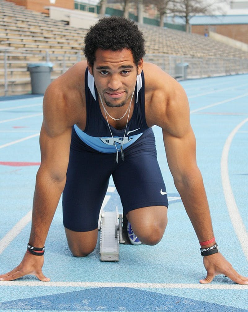Junior Clayton Parros, a runner at UNC, is racing in the Olympic Trials in Oregon this summer.  Parros runs the 400 meter race.