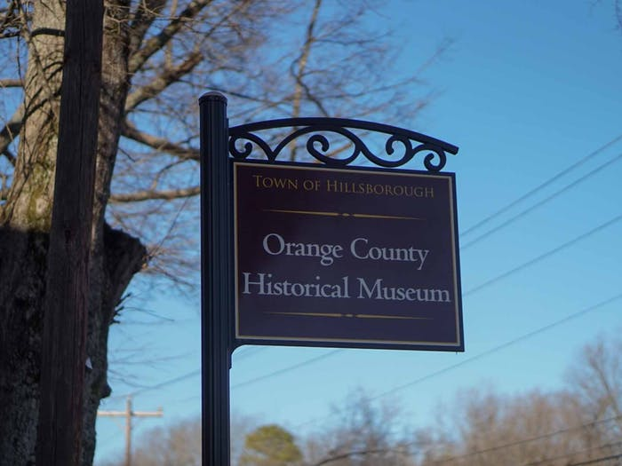 """The Orange County Historical Museum on Jan. 27, 2021. A four-part series, """"The Networks of Early North Carolina History,"""" will be presented by Tom Magnuson after researching some of the earliest commercial transportation networks in Southeast North Carolina for the past thirty years."""