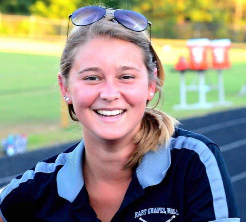 Caroline Macklin, senior clubfield hockey player.Photo courtesy ofCaroline Macklin