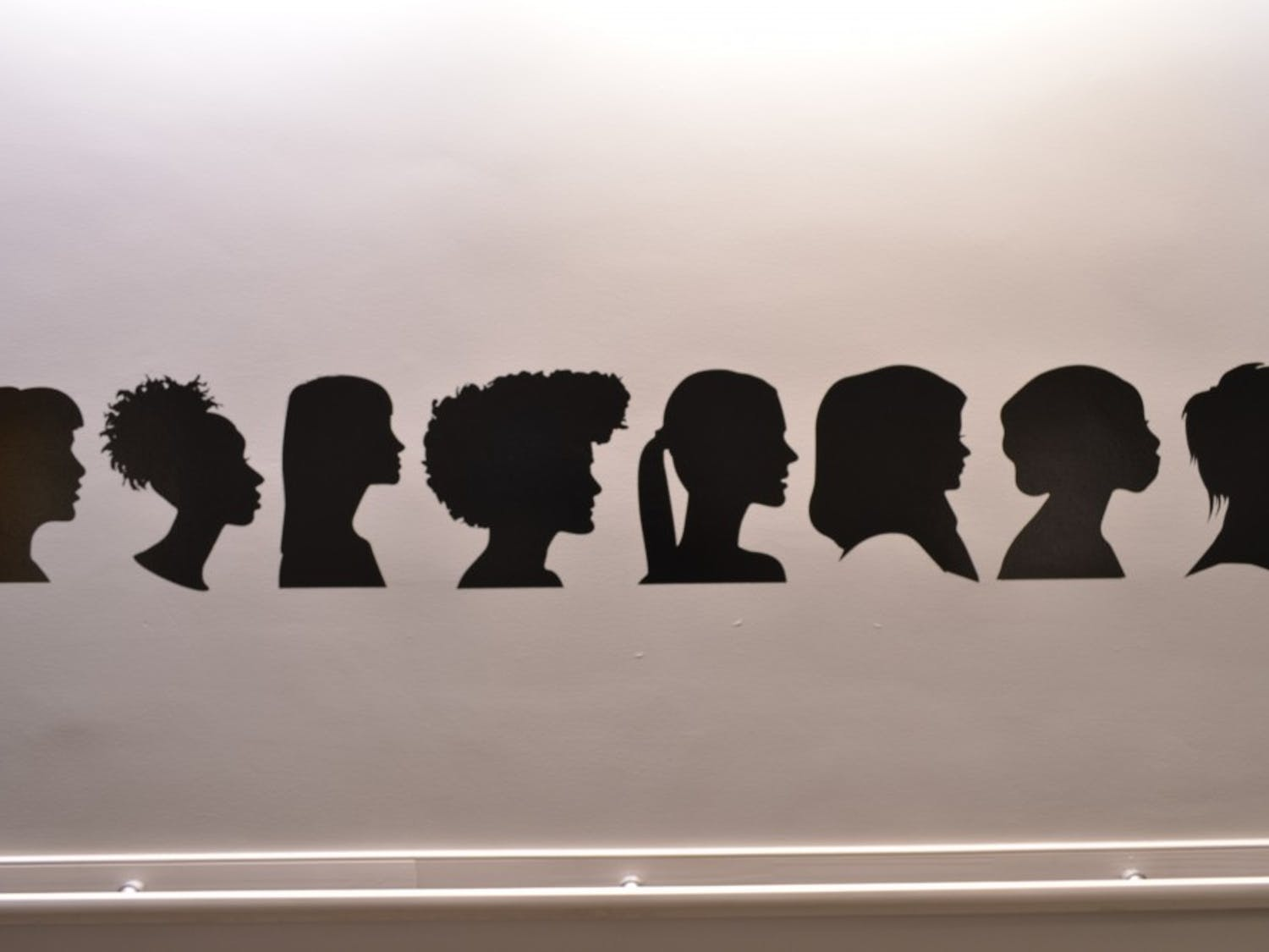 A mural of women painted within the CAPS offices. The Clinical and Psychological Services (CAPS) held an event for students to talk about their mental health experiences on Monday, Nov 12, 2018.