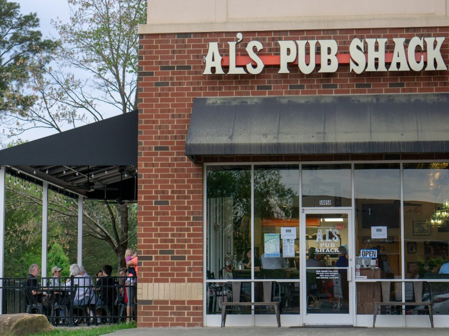 """Al's Pub Shack is now open to the public. Heather Kumnick, director of development, said, """"This is a place where old friends gather and new friends meet."""""""
