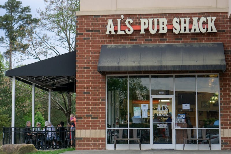 "Al's Pub Shack is now open to the public. Heather Kumnick, director of development, said, ""This is a place where old friends gather and new friends meet."""