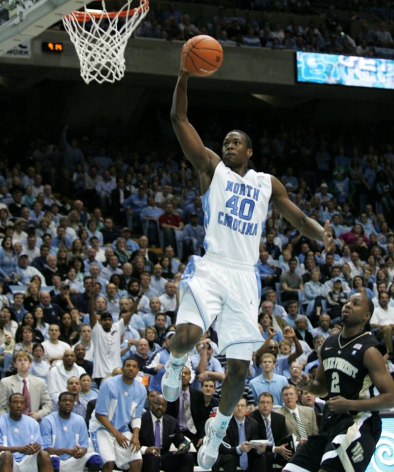 The University of North Carolina Tar Heels played the Wake Forest Demon Deacons on Tuesday, February 15, 2011 in The Dean E. Smith Center.