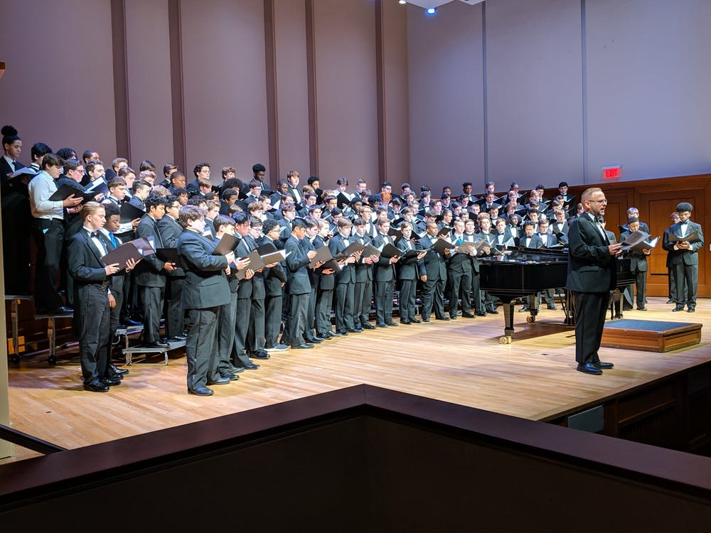 UNC Glee Club hosts male high schoolers for two-day singing festival