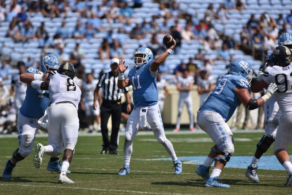 'No one believes in us': UNC football looking to change minds against Syracuse